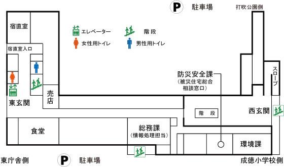 本庁舎1F