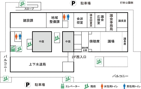 本庁舎2F